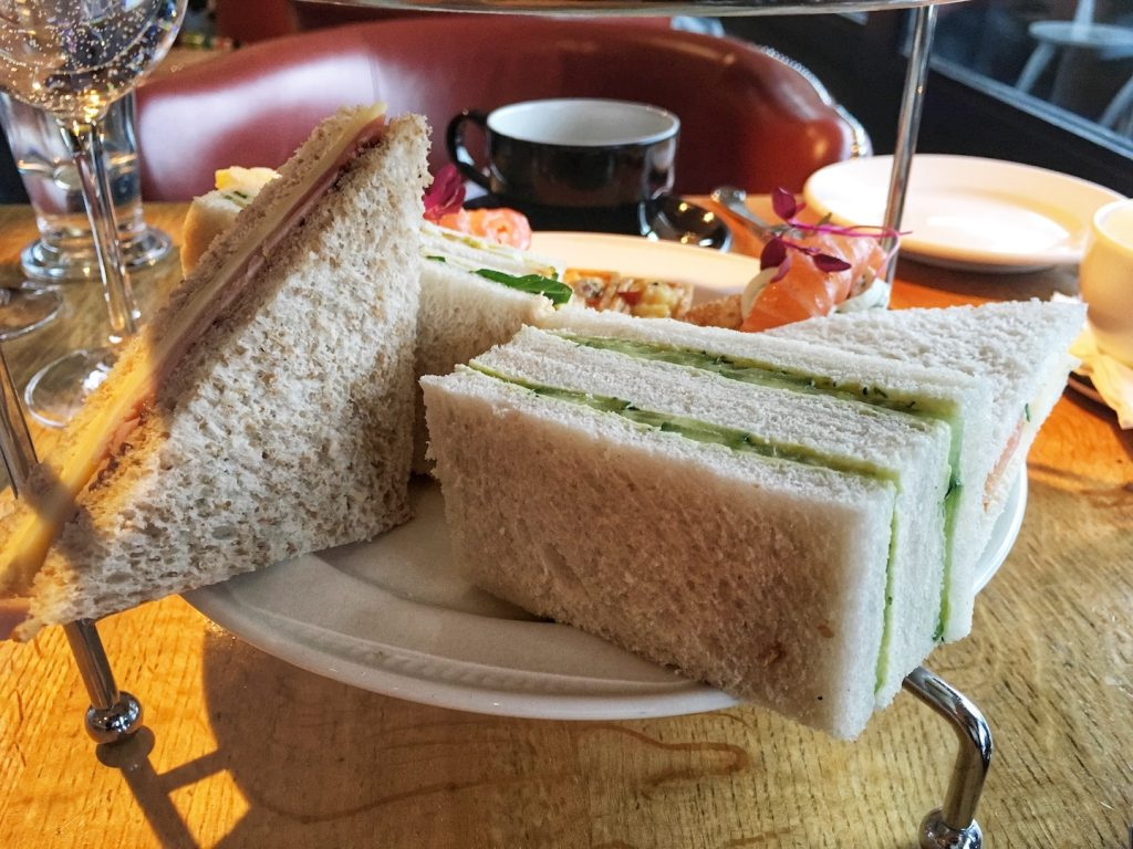 The Tower Resturant scotland afternoon tea sandwiches