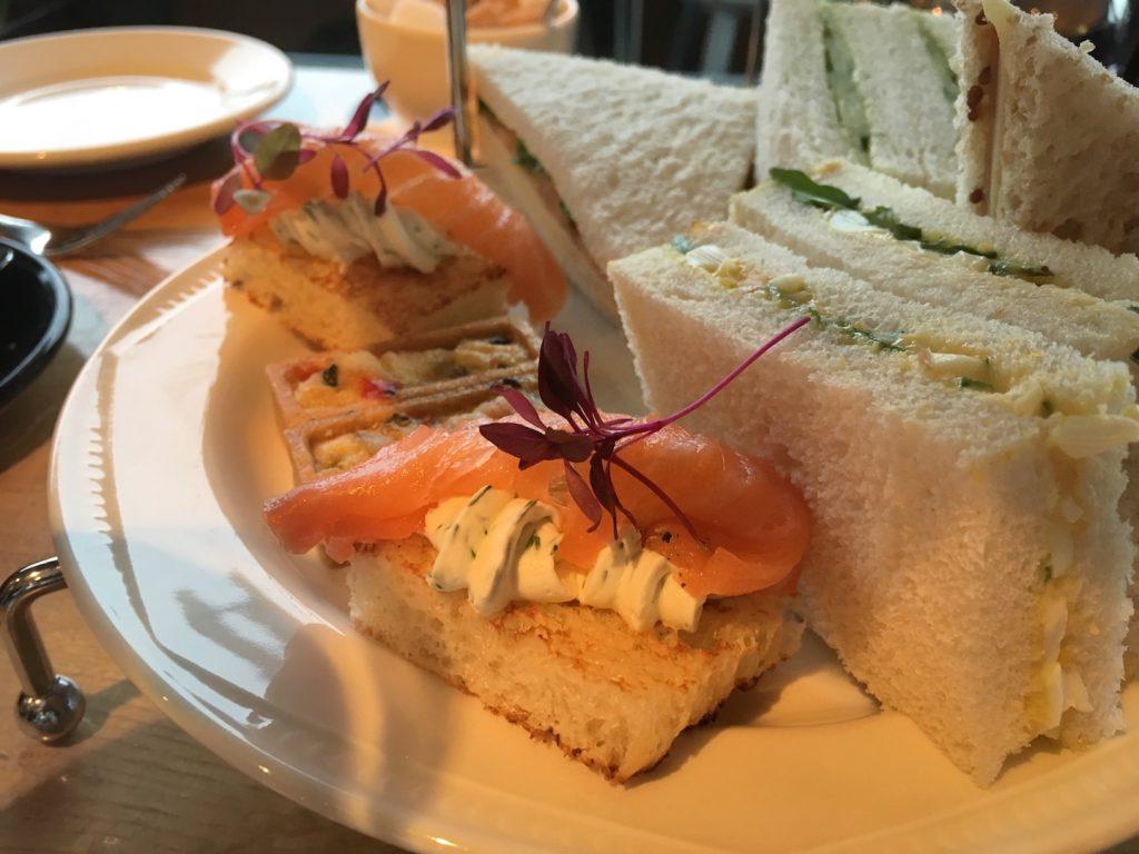 The Tower Resturant scotland afternoon tea savories