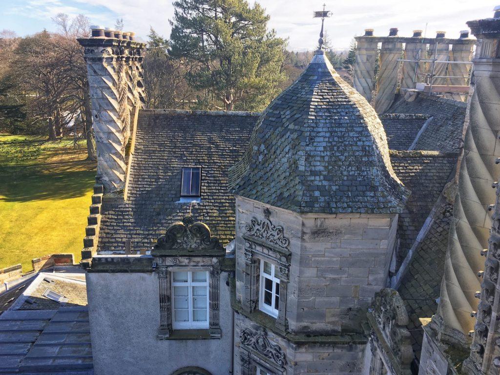 Winton castle exterior scotland