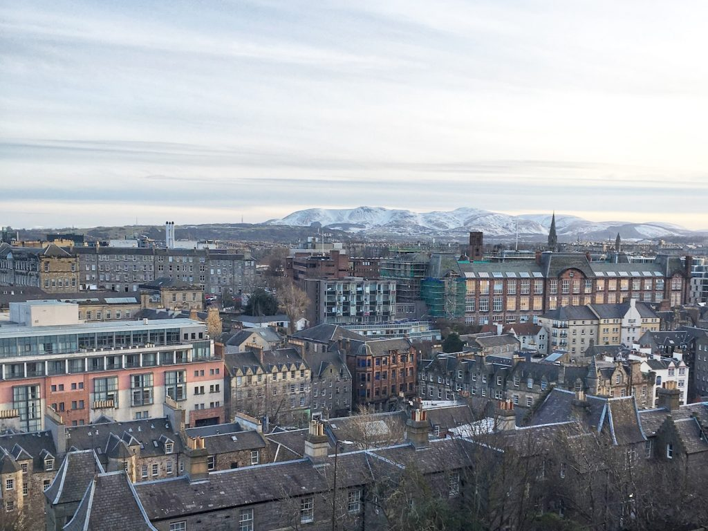 castle hill view edinburgh