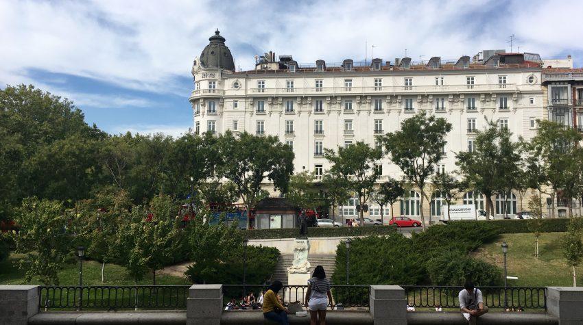 Ritz Madrid from Prado
