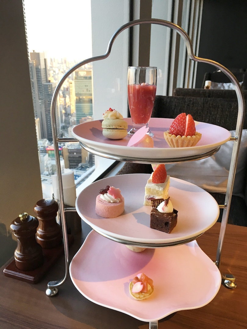 afternoon tea keio plaza hotel package
