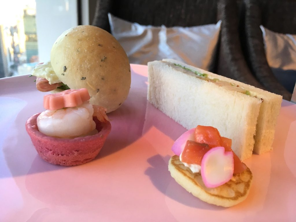 afternoon tea keio plaza hotel savories