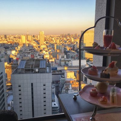 Afternoon Tea at Keio Plaza Hotel Tokyo Japan