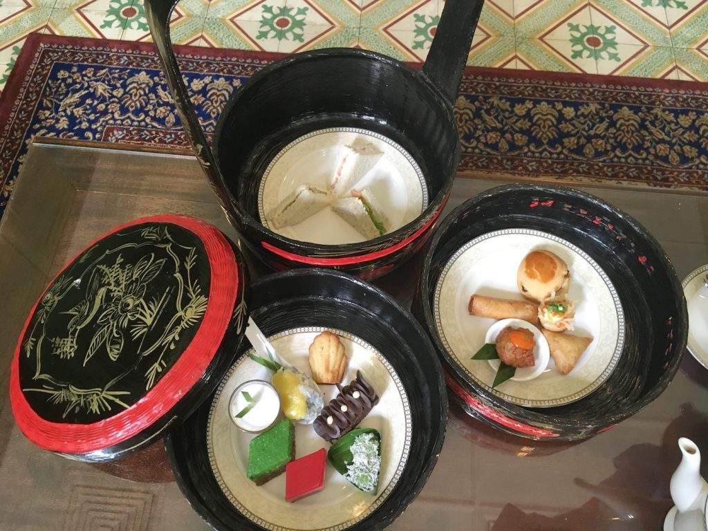 afternoon tea majestic malacca