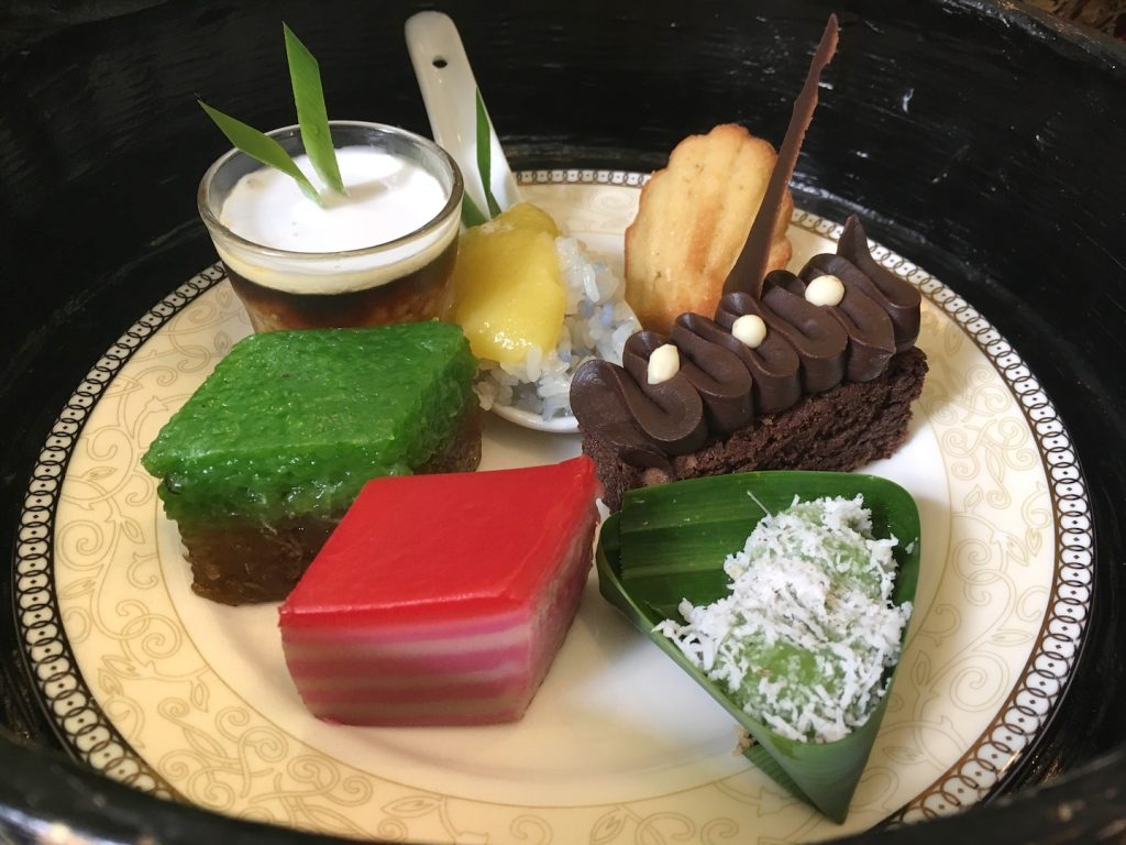 afternoon tea majestic malacca nyonya glutinous rice sweets