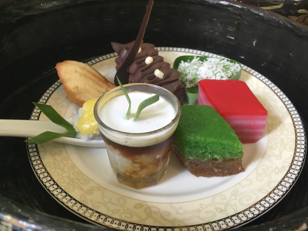afternoon tea majestic malacca nyonya sweets