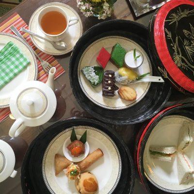 Afternoon Tea at The Majestic Malacca Malaysia