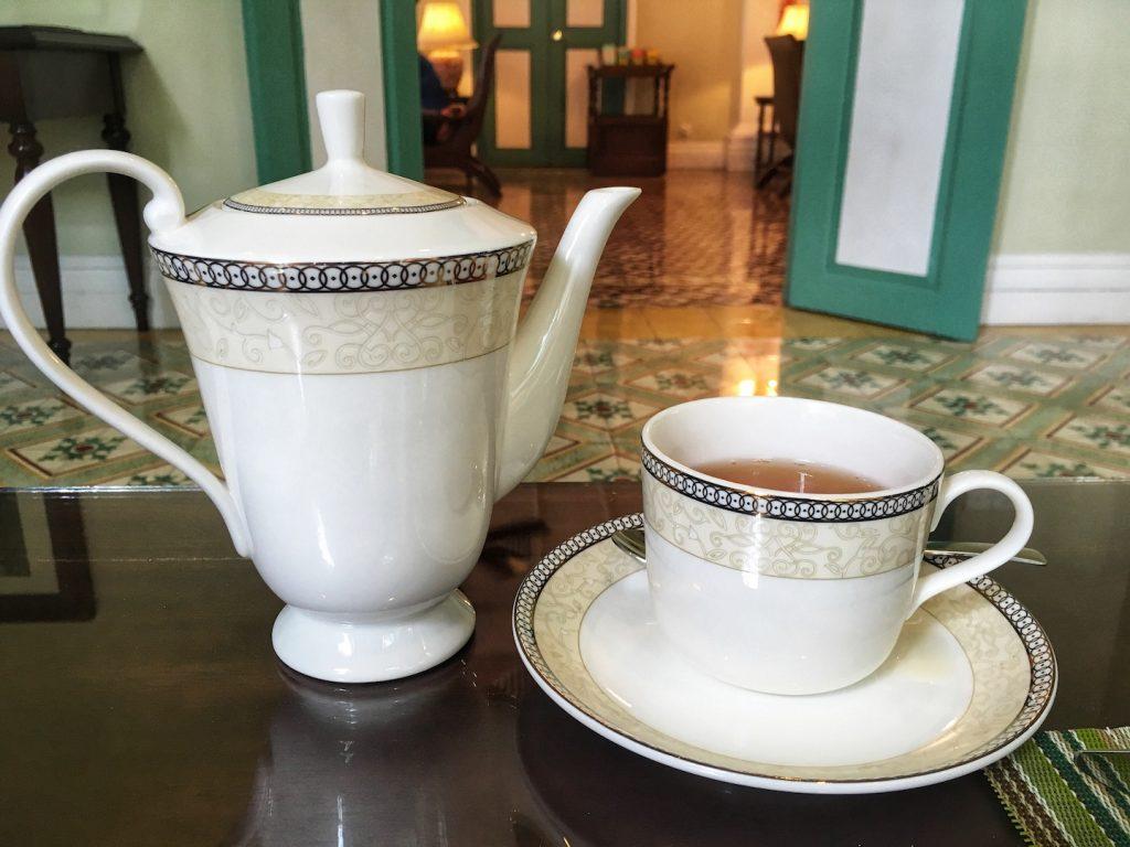 afternoon tea majestic malacca pot of tea