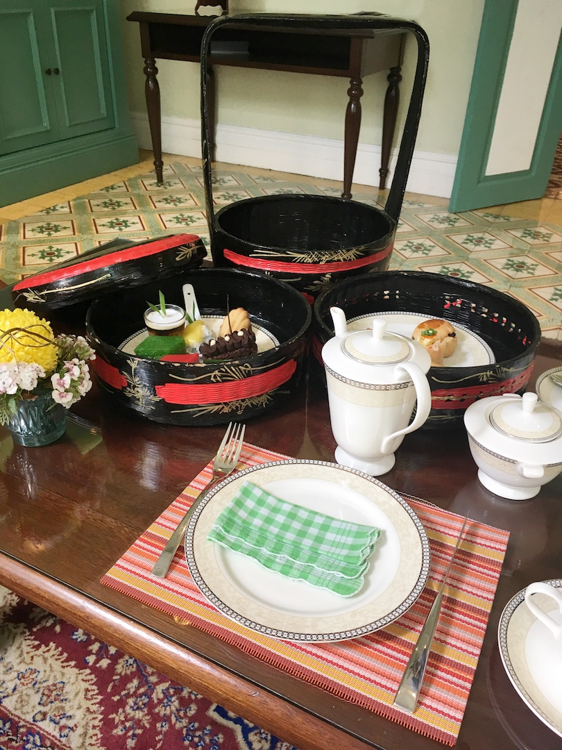 afternoon tea majestic malacca spread