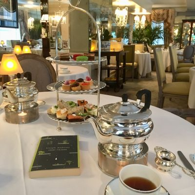Afternoon Tea at The Lowell Hotel, NYC