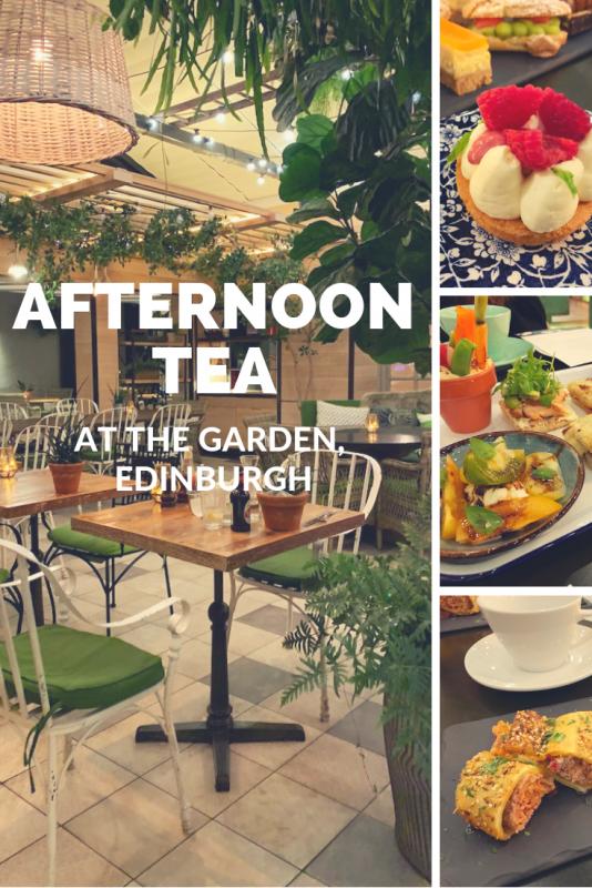 the garden edinburgh afternoon tea
