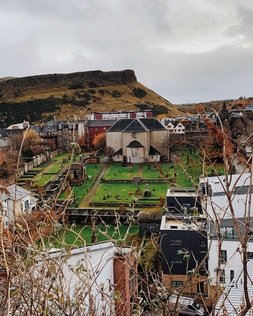 Cannongate Kirk Edinburgh