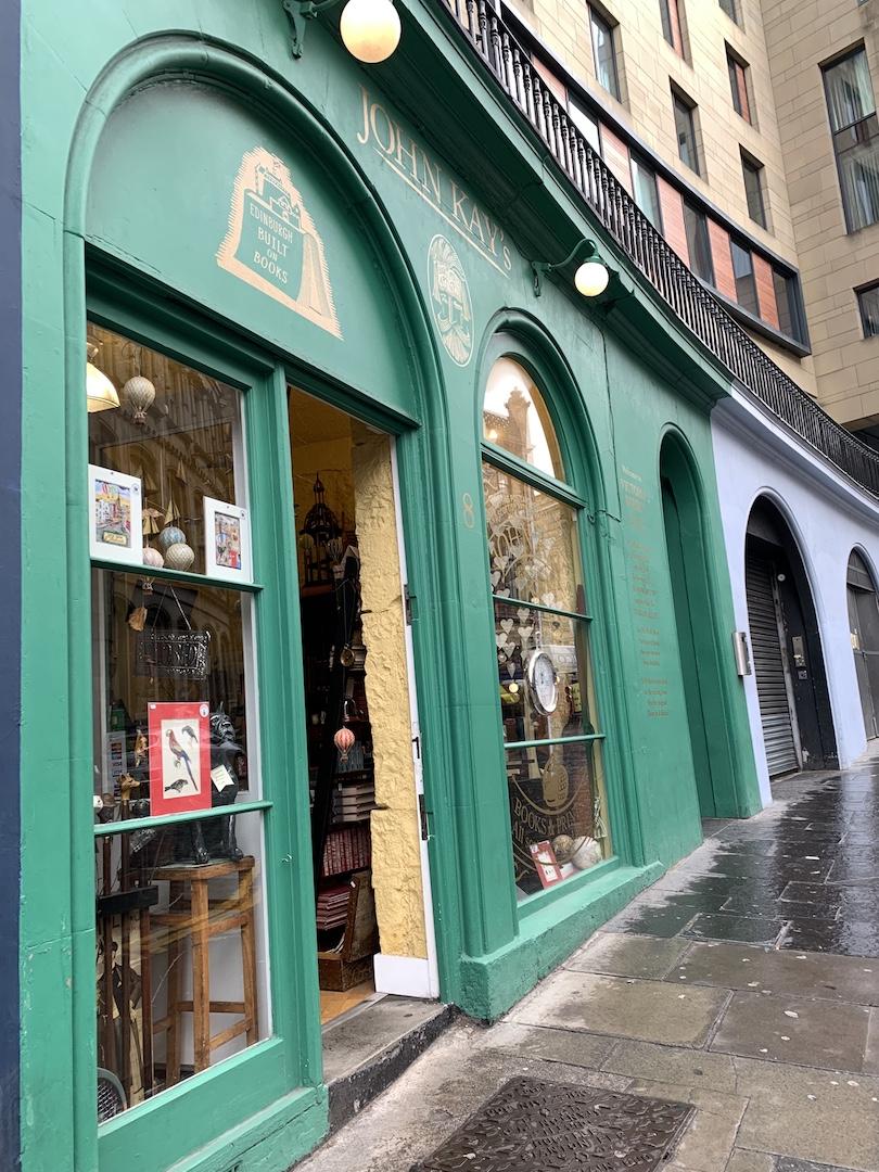 John Kays Bookstore Victoria Street Edinburgh