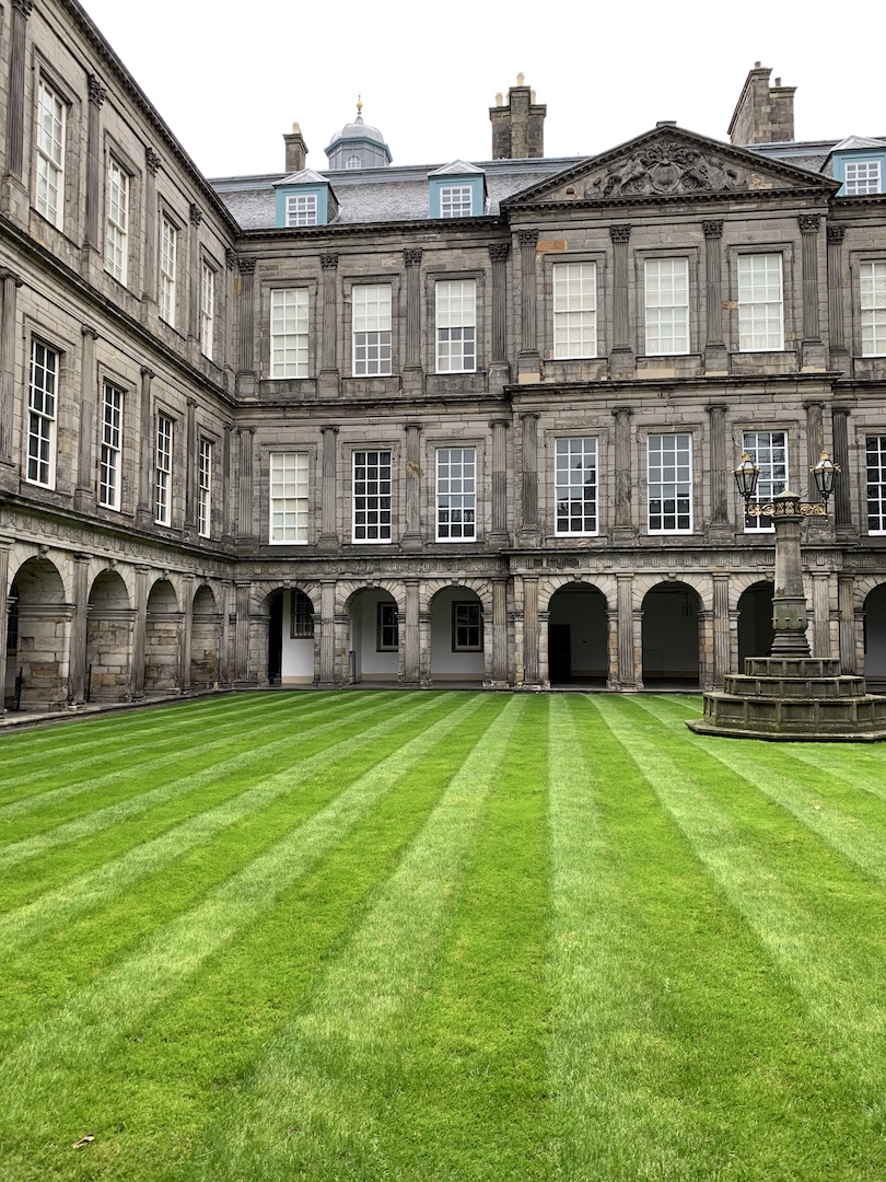 Palace of Holyrood House Edinburgh