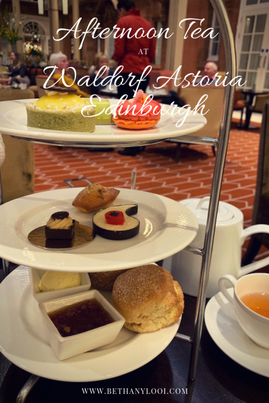 Pin Waldorf Astoria Edinburgh Afternoon Tea