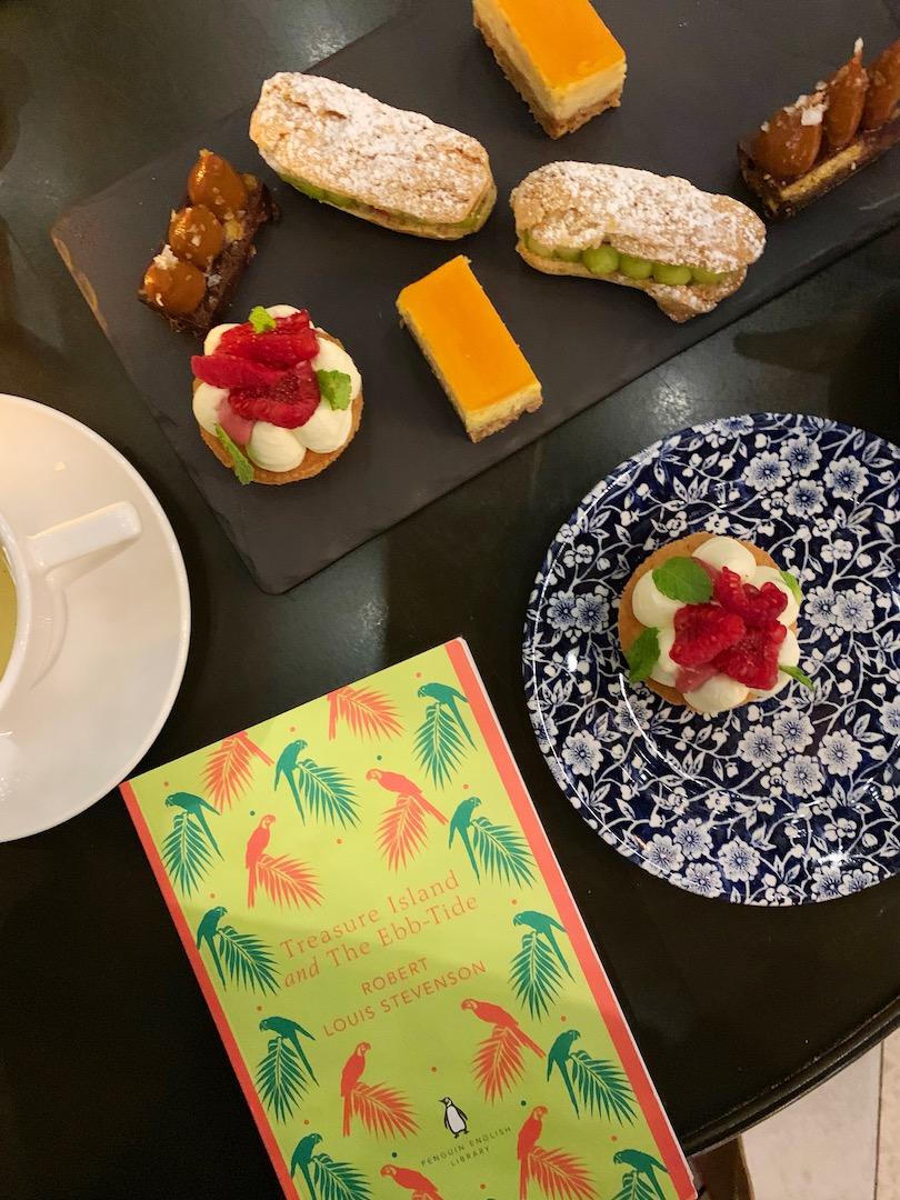 Principal Edinburgh Charlotte Square Desserts Flatlay