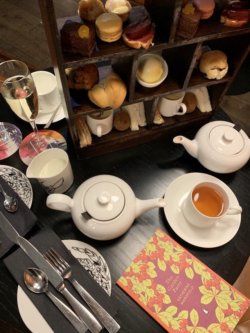 Radisson Collection Royal Mile Afternoon Tea Overhead