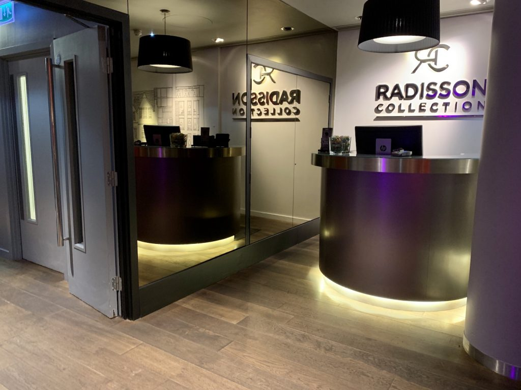 Radisson Collection Royal Mile Reception