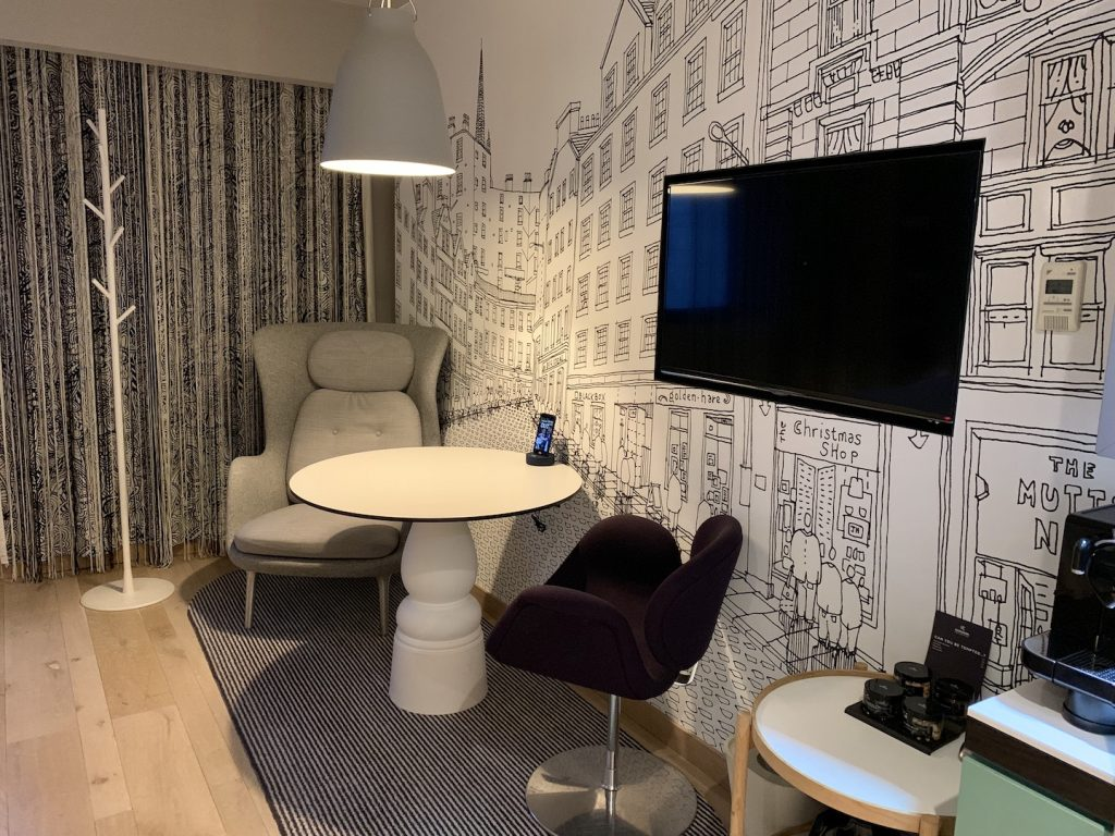Radisson Collection Royal Mile Workspace Area