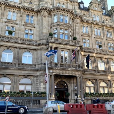 Afternoon Tea at The Balmoral Hotel, Edinburgh