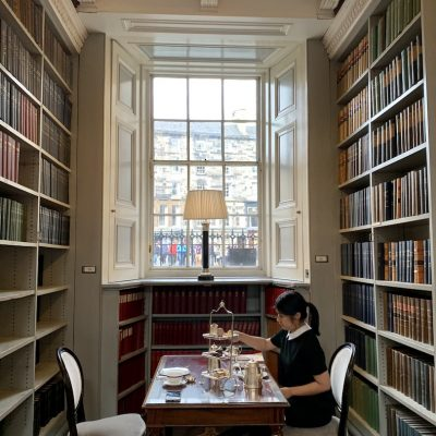 Afternoon Tea at The Signet Library Edinburgh