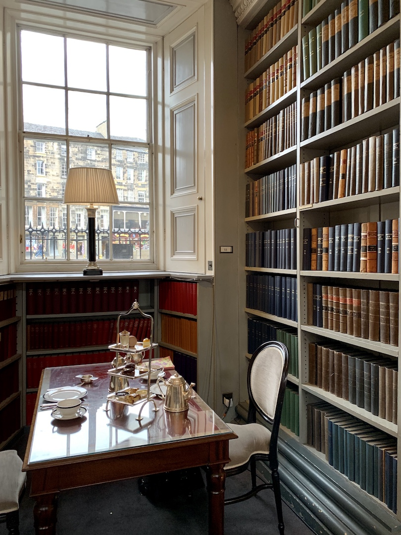 The Signet Library Bookshelves