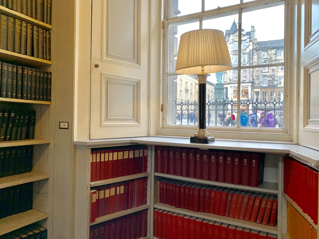 The Signet Library Window View
