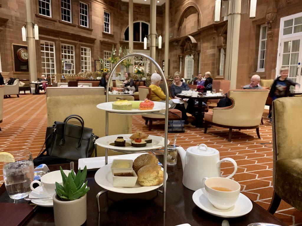 Waldorf Astoria Edinburgh Afternoon Tea