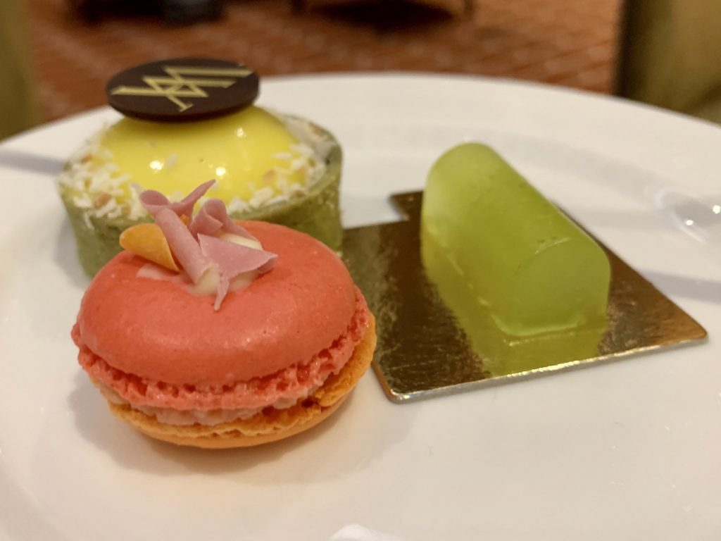 Waldorf Astoria Edinburgh Afternoon Tea Macaron