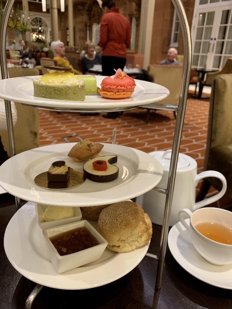 Waldorf Astoria Edinburgh Afternoon Tea Stand