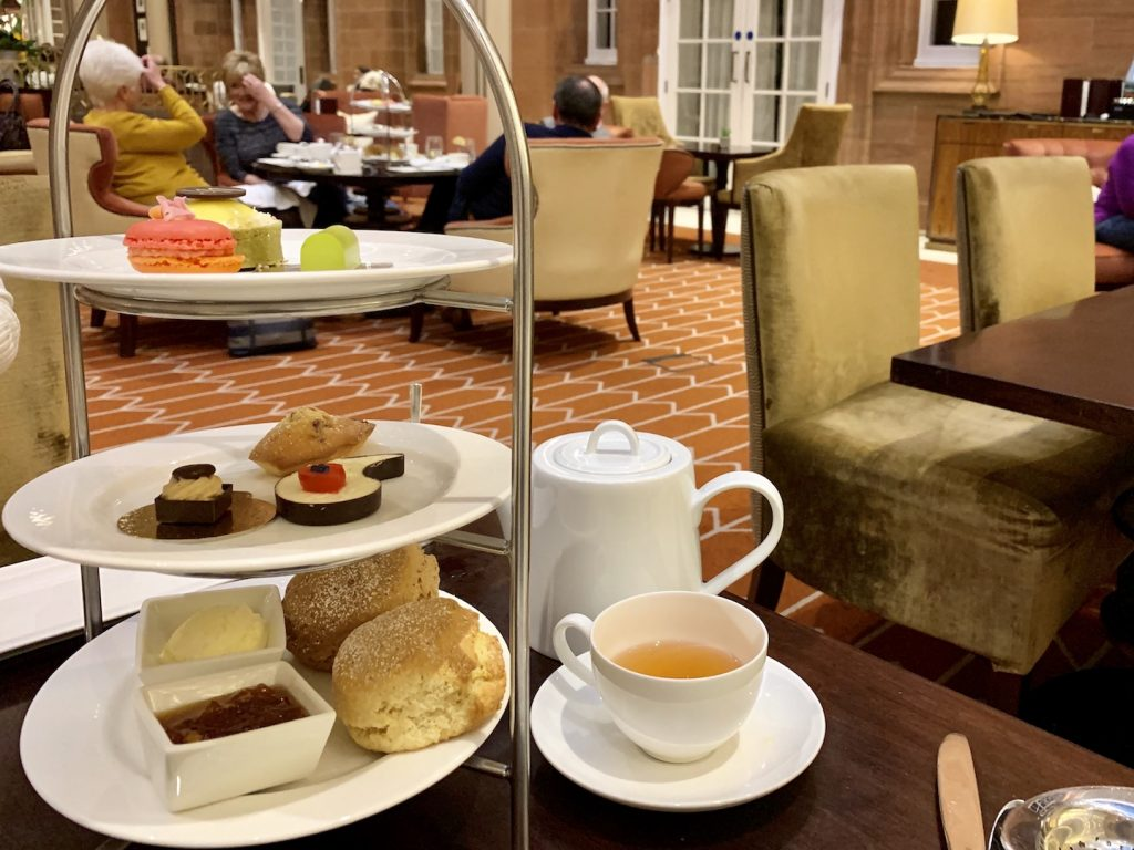 Waldorf Astoria Edinburgh Afternoon Tea and Stand