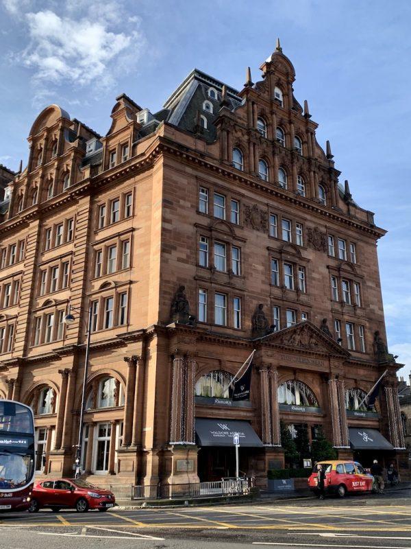 Waldorf Astoria Edinburgh Facade