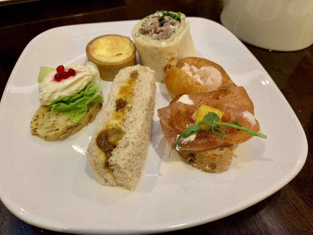 Waldorf Astoria Edinburgh Savories sandwiches