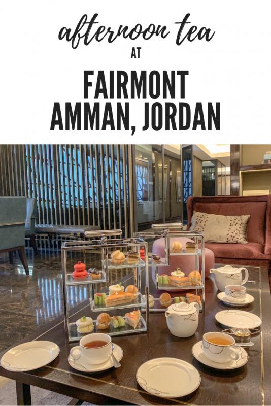 afternoon tea at fairmont amman