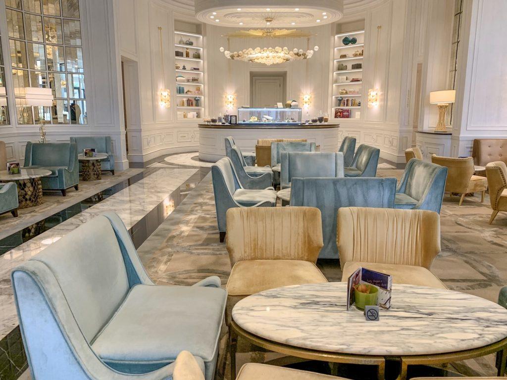 afternoon tea fairmont amman lobby