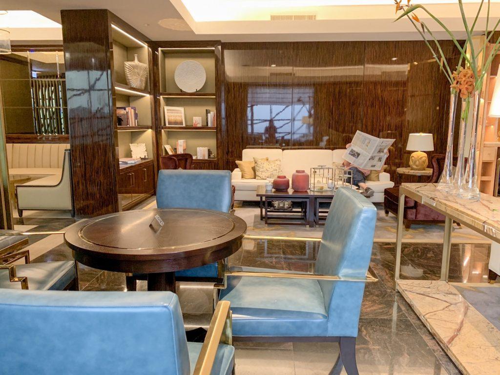 afternoon tea fairmont amman lounge seating