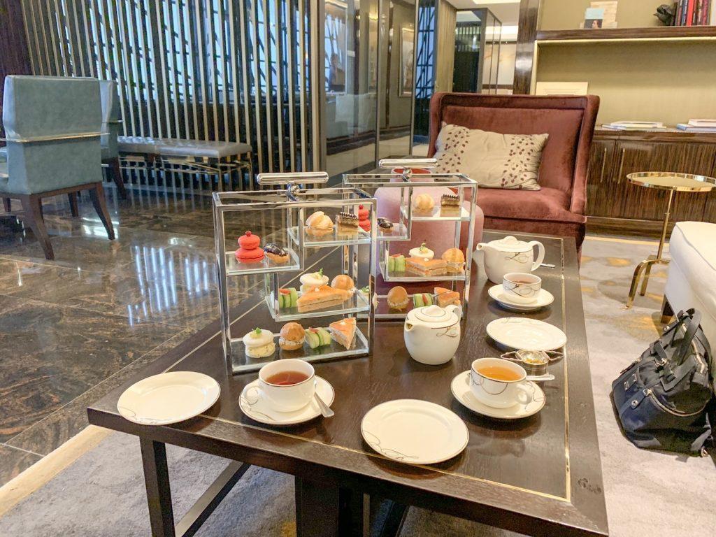 afternoon tea fairmont amman spread horizontal