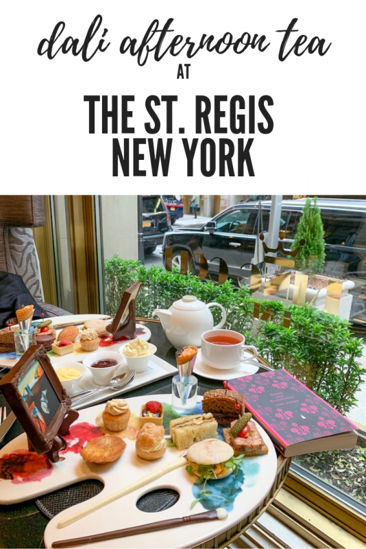 dali afternoon tea at the st regis new york