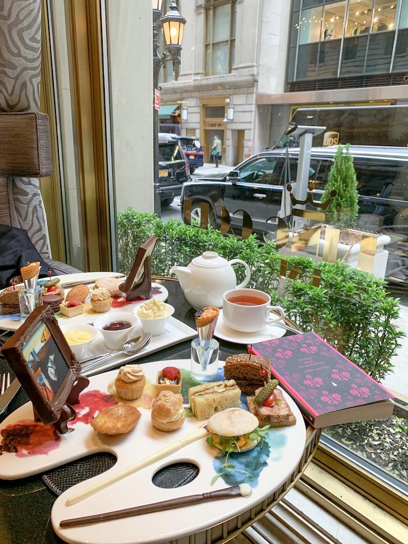 Dali Tea at The St Regis New York