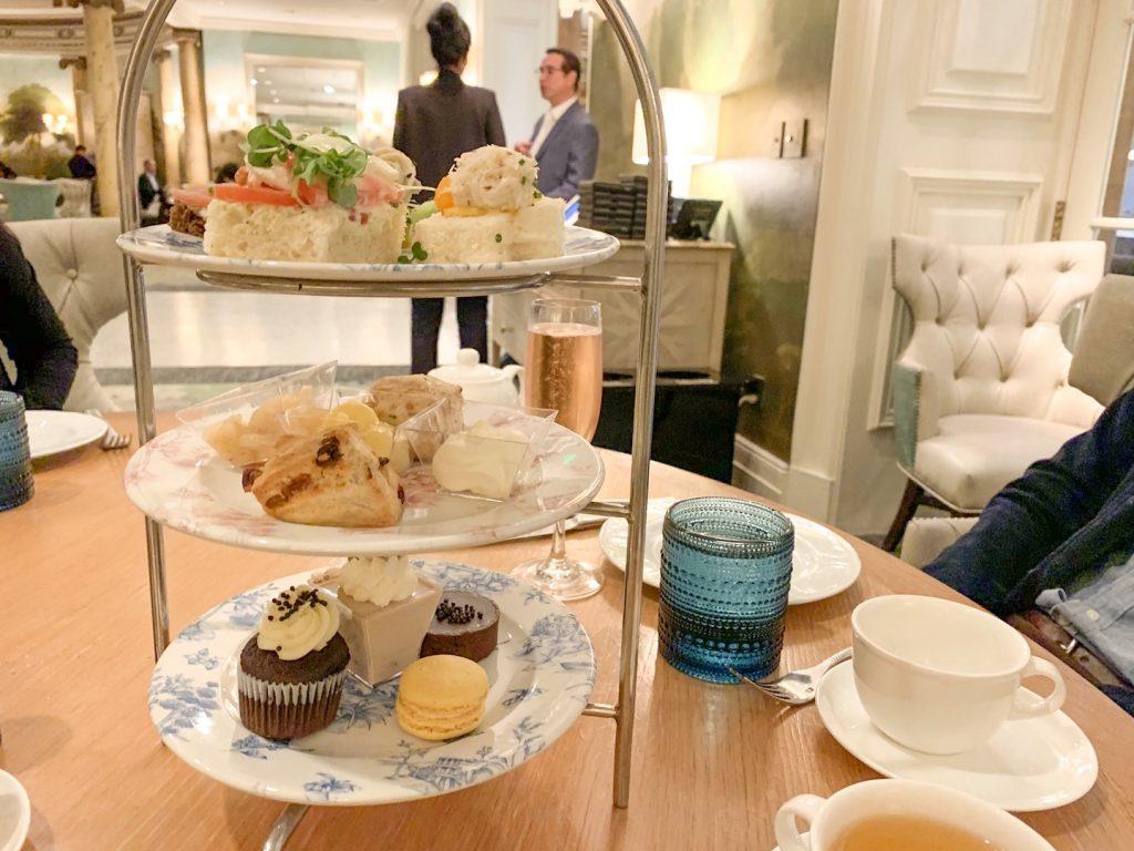 afternoon tea at fairmont san francisco