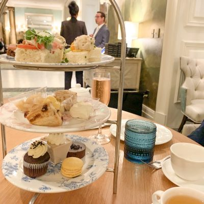 afternoon tea at fairmont san francisco