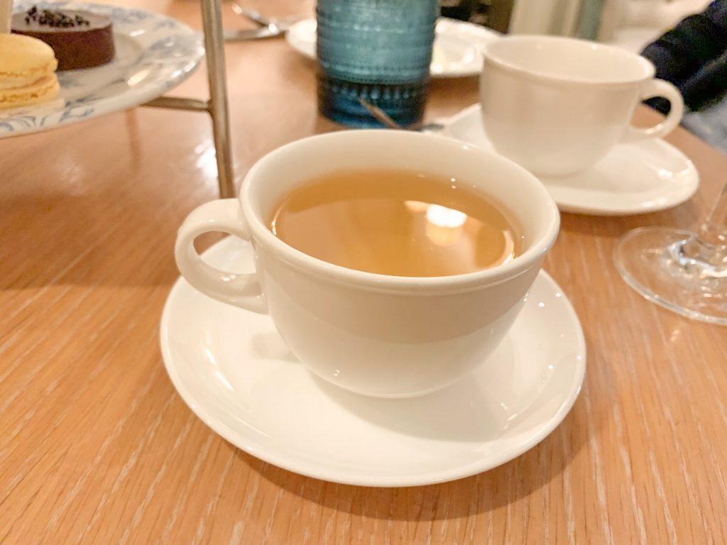 afternoon tea fairmont san francisco green tea