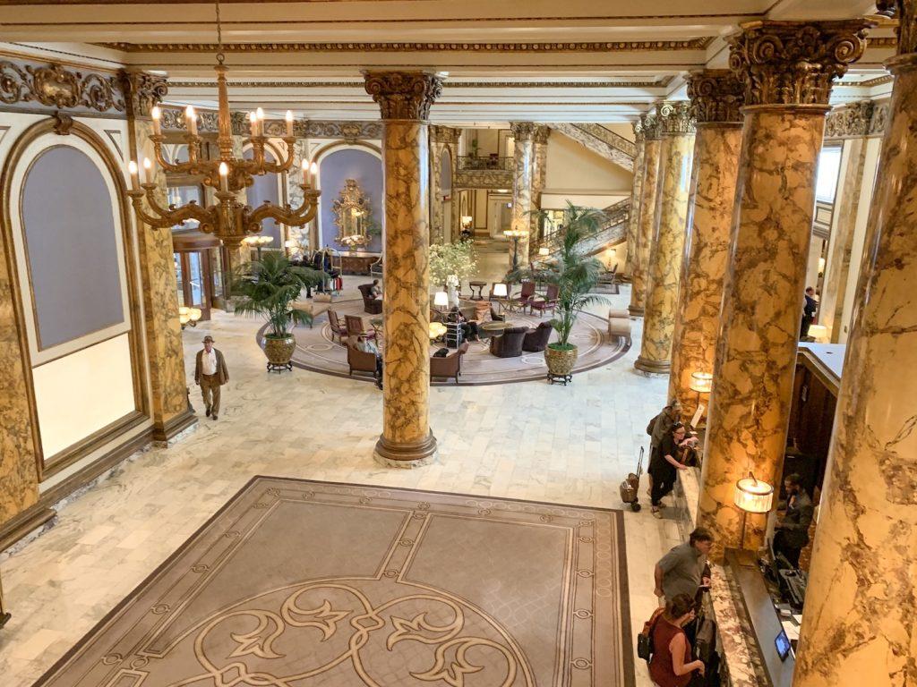 fairmont san francisco lobby