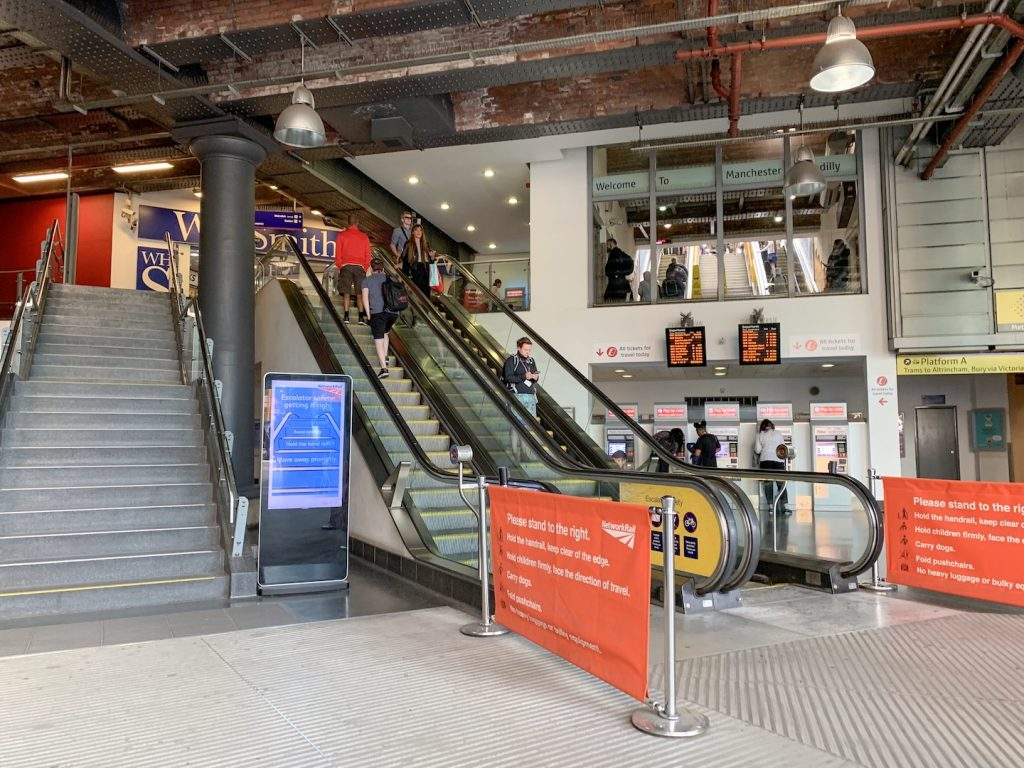 Manchester Piccadilly station entrance