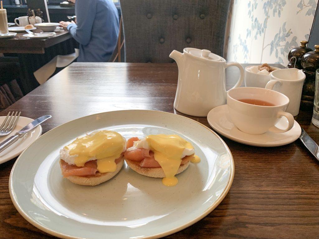 Nira Caledonia breakfast poached eggs