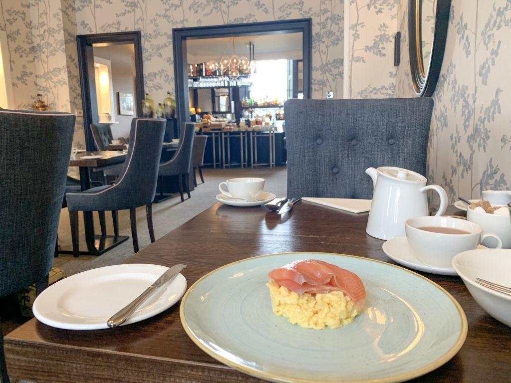 Nira Caledonia breakfast scrambled eggs
