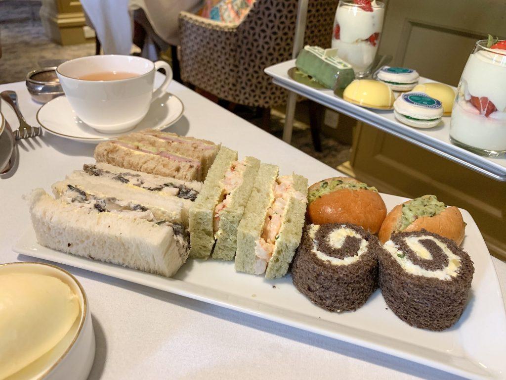 midland manchester afternoon tea savories