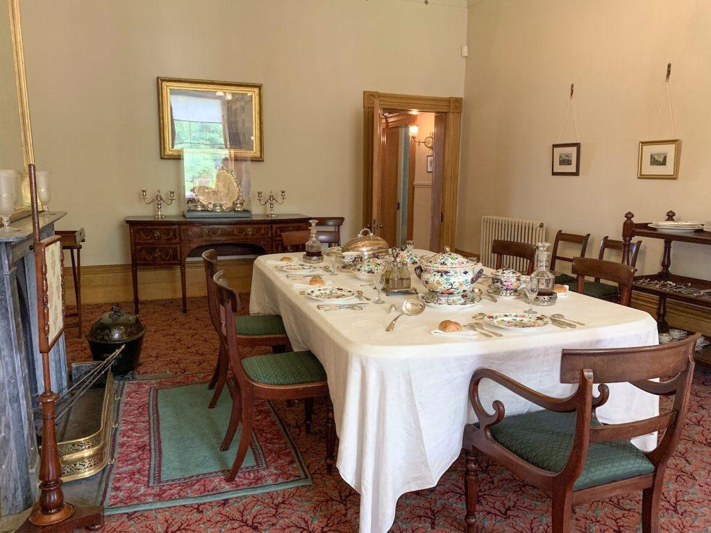 Elizabeth Gaskell House Dining Room