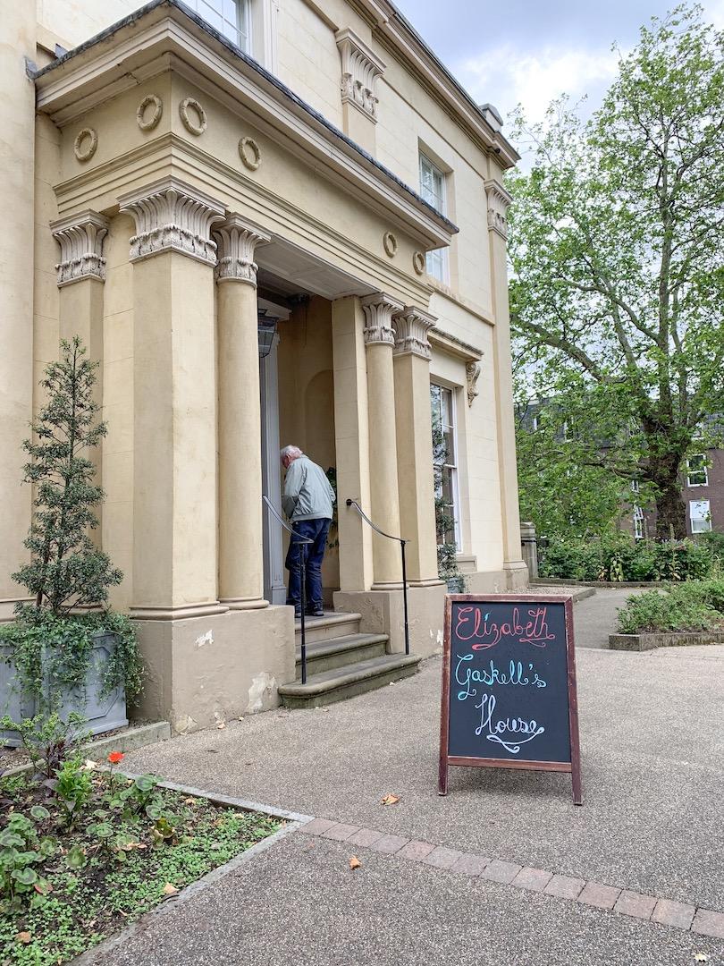 Elizabeth Gaskell House Front Entrance